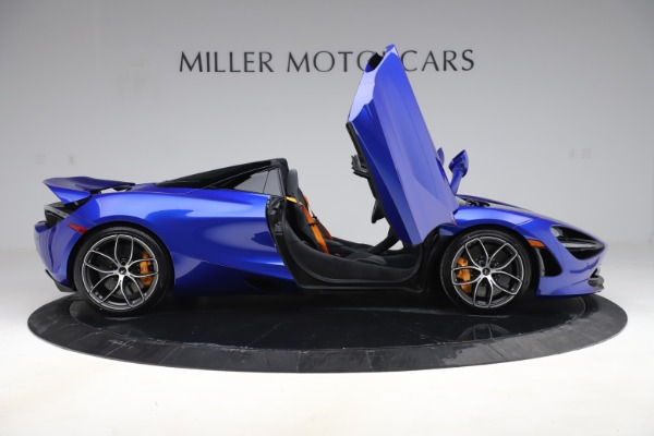 New 2020 McLaren 720S Spider Convertible for sale $364,090 at Bugatti of Greenwich in Greenwich CT 06830 15
