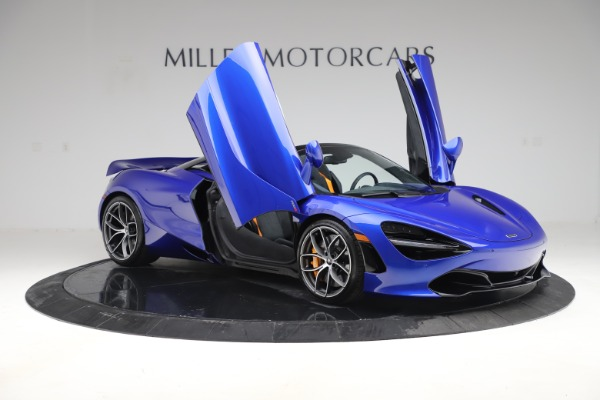 New 2020 McLaren 720S Spider Convertible for sale $364,090 at Bugatti of Greenwich in Greenwich CT 06830 16