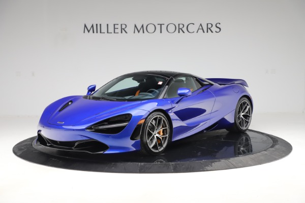 New 2020 McLaren 720S Spider Convertible for sale $364,090 at Bugatti of Greenwich in Greenwich CT 06830 18