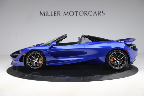 New 2020 McLaren 720S Spider Convertible for sale $364,090 at Bugatti of Greenwich in Greenwich CT 06830 2