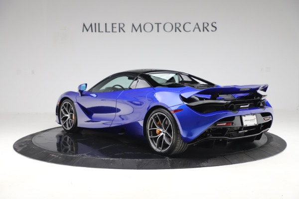 New 2020 McLaren 720S Spider Convertible for sale $364,090 at Bugatti of Greenwich in Greenwich CT 06830 20