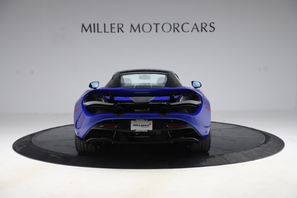 New 2020 McLaren 720S Spider Convertible for sale $364,090 at Bugatti of Greenwich in Greenwich CT 06830 21