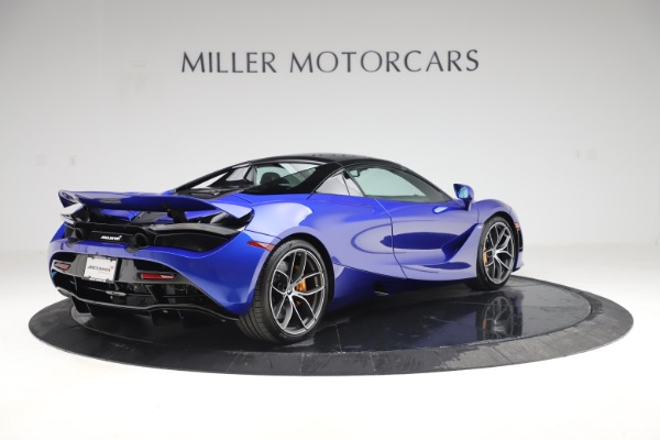New 2020 McLaren 720S Spider Convertible for sale $364,090 at Bugatti of Greenwich in Greenwich CT 06830 22