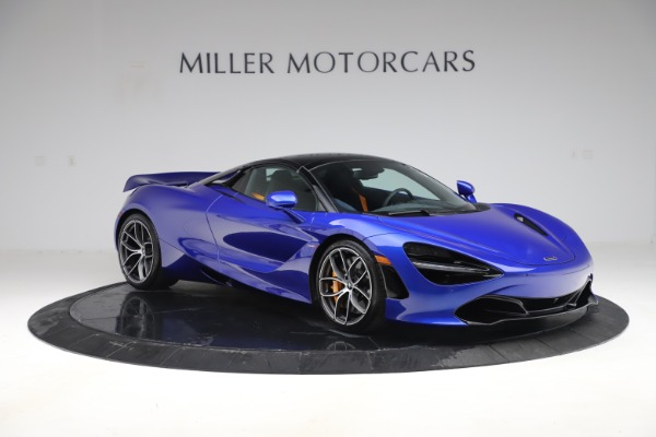 New 2020 McLaren 720S Spider Convertible for sale $364,090 at Bugatti of Greenwich in Greenwich CT 06830 24