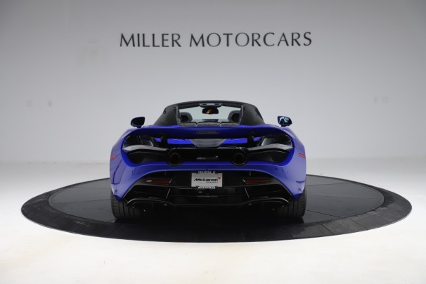 New 2020 McLaren 720S Spider Convertible for sale $364,090 at Bugatti of Greenwich in Greenwich CT 06830 4