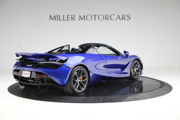 New 2020 McLaren 720S Spider Convertible for sale $364,090 at Bugatti of Greenwich in Greenwich CT 06830 5