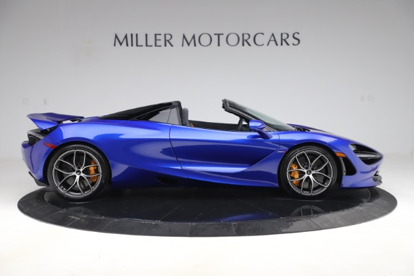 New 2020 McLaren 720S Spider Convertible for sale $364,090 at Bugatti of Greenwich in Greenwich CT 06830 6