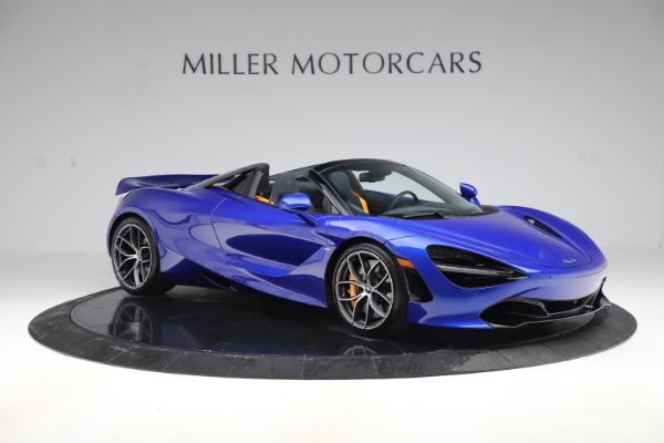 New 2020 McLaren 720S Spider Convertible for sale $364,090 at Bugatti of Greenwich in Greenwich CT 06830 7