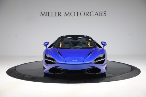 New 2020 McLaren 720S Spider Convertible for sale $364,090 at Bugatti of Greenwich in Greenwich CT 06830 8
