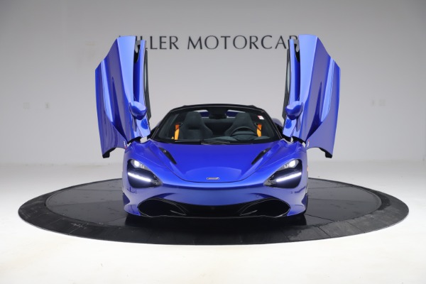 New 2020 McLaren 720S Spider Convertible for sale $364,090 at Bugatti of Greenwich in Greenwich CT 06830 9