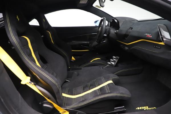 Used 2019 Ferrari 488 Pista for sale Sold at Bugatti of Greenwich in Greenwich CT 06830 18