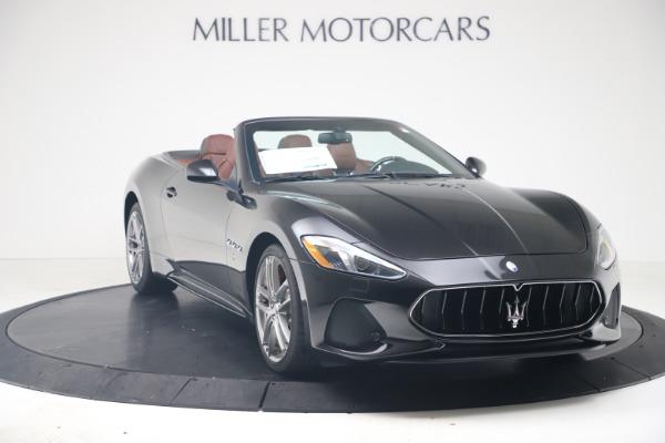 New 2019 Maserati GranTurismo Sport Convertible for sale $165,645 at Bugatti of Greenwich in Greenwich CT 06830 11