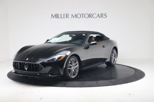 New 2019 Maserati GranTurismo Sport Convertible for sale $165,645 at Bugatti of Greenwich in Greenwich CT 06830 13