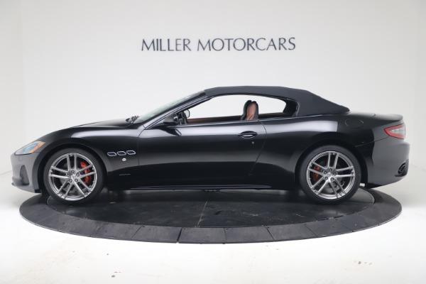 New 2019 Maserati GranTurismo Sport Convertible for sale $165,645 at Bugatti of Greenwich in Greenwich CT 06830 14