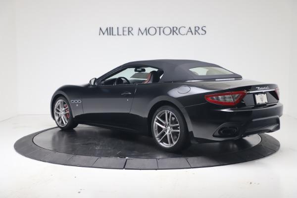 New 2019 Maserati GranTurismo Sport Convertible for sale $165,645 at Bugatti of Greenwich in Greenwich CT 06830 15