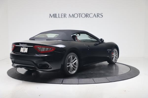 New 2019 Maserati GranTurismo Sport Convertible for sale $165,645 at Bugatti of Greenwich in Greenwich CT 06830 16