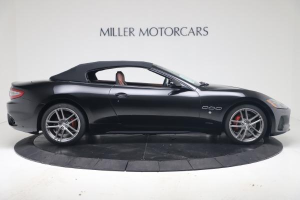 New 2019 Maserati GranTurismo Sport Convertible for sale $165,645 at Bugatti of Greenwich in Greenwich CT 06830 17