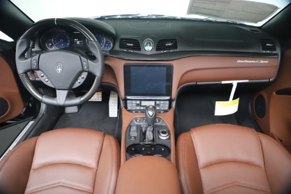 New 2019 Maserati GranTurismo Sport Convertible for sale $165,645 at Bugatti of Greenwich in Greenwich CT 06830 22
