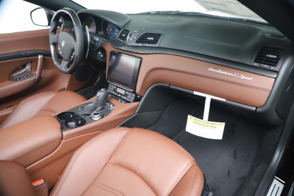 New 2019 Maserati GranTurismo Sport Convertible for sale $165,645 at Bugatti of Greenwich in Greenwich CT 06830 26