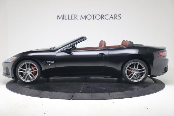 New 2019 Maserati GranTurismo Sport Convertible for sale $165,645 at Bugatti of Greenwich in Greenwich CT 06830 3