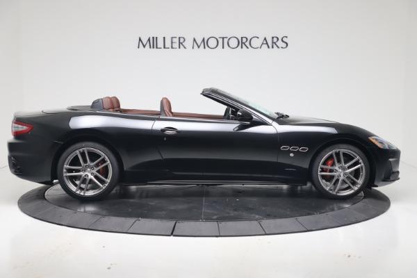 New 2019 Maserati GranTurismo Sport Convertible for sale $165,645 at Bugatti of Greenwich in Greenwich CT 06830 9