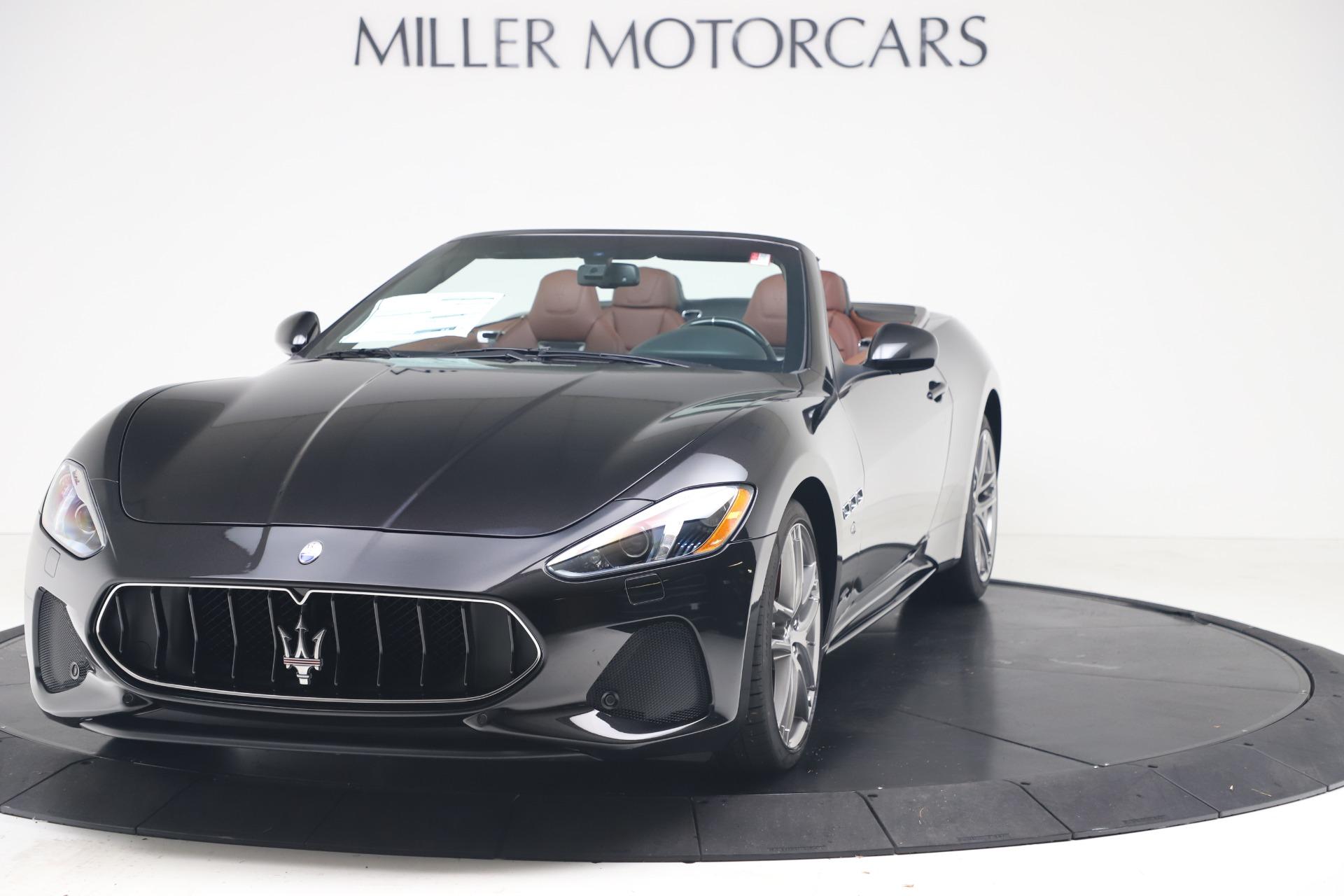 New 2019 Maserati GranTurismo Sport Convertible for sale $165,645 at Bugatti of Greenwich in Greenwich CT 06830 1