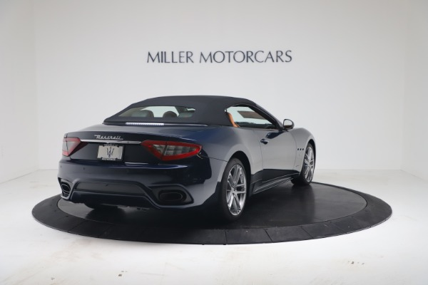New 2019 Maserati GranTurismo Sport Convertible for sale $172,060 at Bugatti of Greenwich in Greenwich CT 06830 16