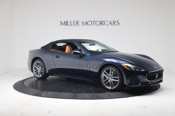 New 2019 Maserati GranTurismo Sport Convertible for sale $172,060 at Bugatti of Greenwich in Greenwich CT 06830 18