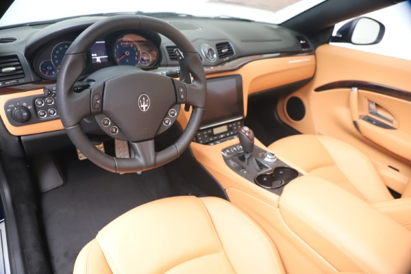 New 2019 Maserati GranTurismo Sport Convertible for sale $172,060 at Bugatti of Greenwich in Greenwich CT 06830 19
