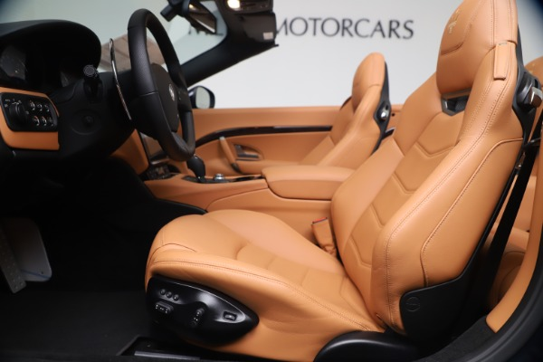 New 2019 Maserati GranTurismo Sport Convertible for sale $172,060 at Bugatti of Greenwich in Greenwich CT 06830 20