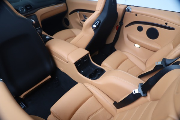 New 2019 Maserati GranTurismo Sport Convertible for sale $172,060 at Bugatti of Greenwich in Greenwich CT 06830 25