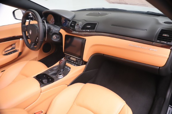 New 2019 Maserati GranTurismo Sport Convertible for sale $172,060 at Bugatti of Greenwich in Greenwich CT 06830 26