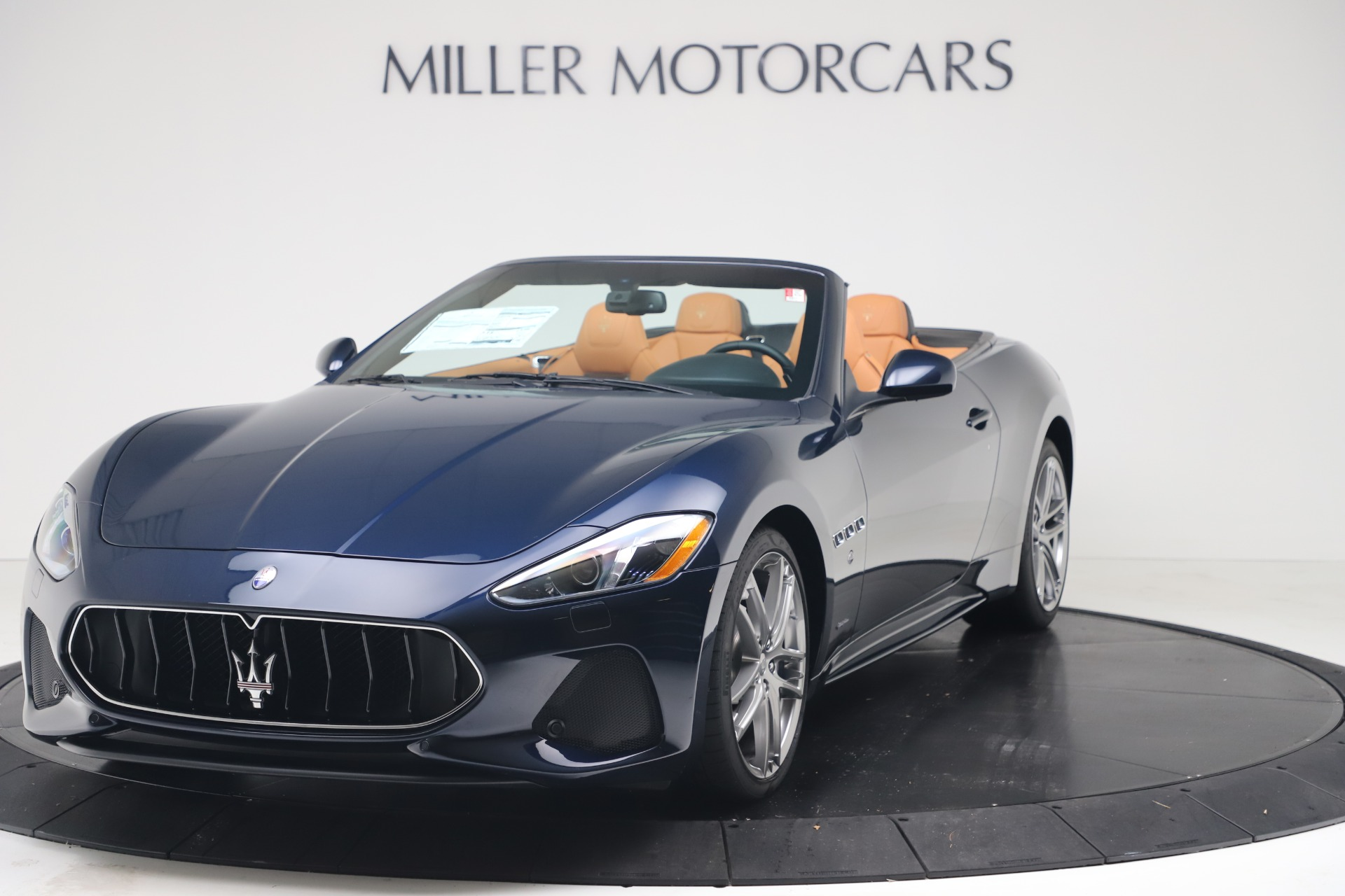New 2019 Maserati GranTurismo Sport Convertible for sale $172,060 at Bugatti of Greenwich in Greenwich CT 06830 1