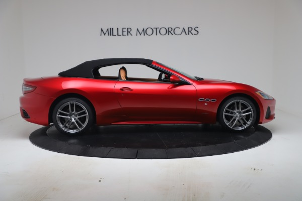 New 2019 Maserati GranTurismo Sport Convertible for sale Sold at Bugatti of Greenwich in Greenwich CT 06830 17
