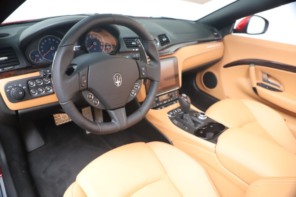 New 2019 Maserati GranTurismo Sport Convertible for sale Sold at Bugatti of Greenwich in Greenwich CT 06830 19