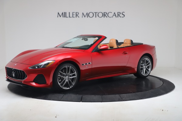 New 2019 Maserati GranTurismo Sport Convertible for sale Sold at Bugatti of Greenwich in Greenwich CT 06830 2