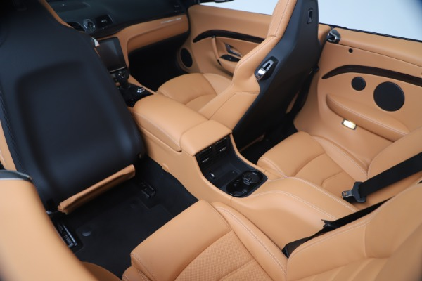 New 2019 Maserati GranTurismo Sport Convertible for sale Sold at Bugatti of Greenwich in Greenwich CT 06830 25