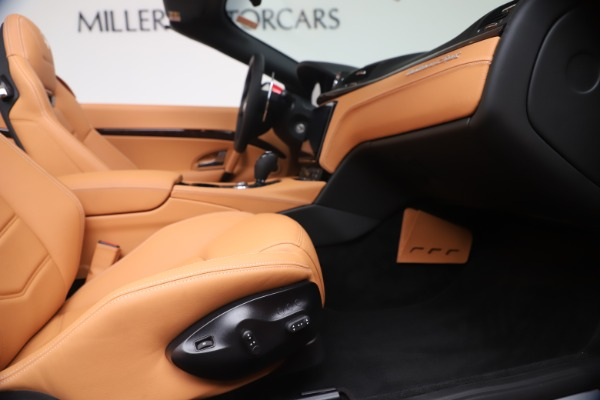 New 2019 Maserati GranTurismo Sport Convertible for sale Sold at Bugatti of Greenwich in Greenwich CT 06830 27