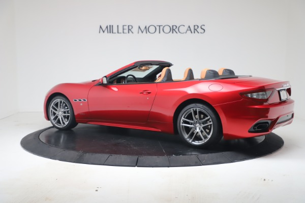 New 2019 Maserati GranTurismo Sport Convertible for sale Sold at Bugatti of Greenwich in Greenwich CT 06830 4