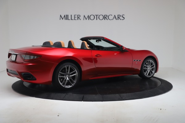 New 2019 Maserati GranTurismo Sport Convertible for sale Sold at Bugatti of Greenwich in Greenwich CT 06830 8