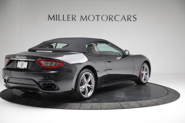 New 2019 Maserati GranTurismo Sport Convertible for sale $165,340 at Bugatti of Greenwich in Greenwich CT 06830 17