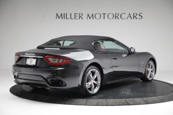 New 2019 Maserati GranTurismo Sport Convertible for sale $165,340 at Bugatti of Greenwich in Greenwich CT 06830 18