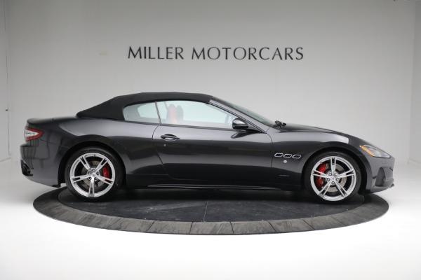 New 2019 Maserati GranTurismo Sport Convertible for sale $165,340 at Bugatti of Greenwich in Greenwich CT 06830 19