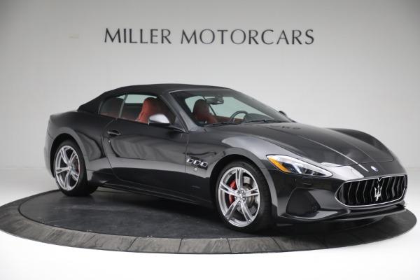 New 2019 Maserati GranTurismo Sport Convertible for sale $165,340 at Bugatti of Greenwich in Greenwich CT 06830 20