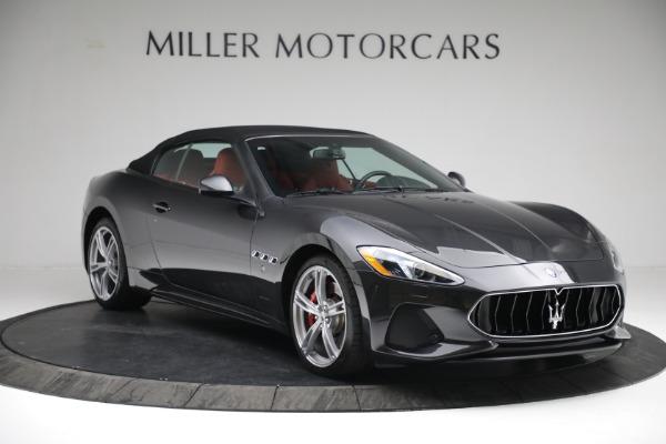 New 2019 Maserati GranTurismo Sport Convertible for sale $165,340 at Bugatti of Greenwich in Greenwich CT 06830 22