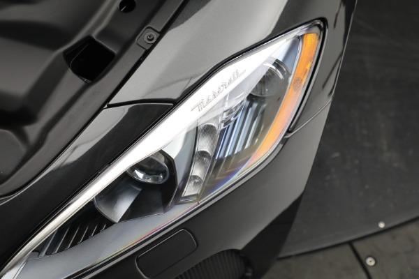 New 2019 Maserati GranTurismo Sport Convertible for sale $165,340 at Bugatti of Greenwich in Greenwich CT 06830 26