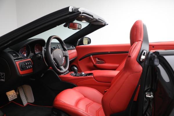 New 2019 Maserati GranTurismo Sport Convertible for sale $165,340 at Bugatti of Greenwich in Greenwich CT 06830 27
