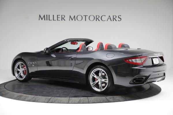 New 2019 Maserati GranTurismo Sport Convertible for sale $165,340 at Bugatti of Greenwich in Greenwich CT 06830 4