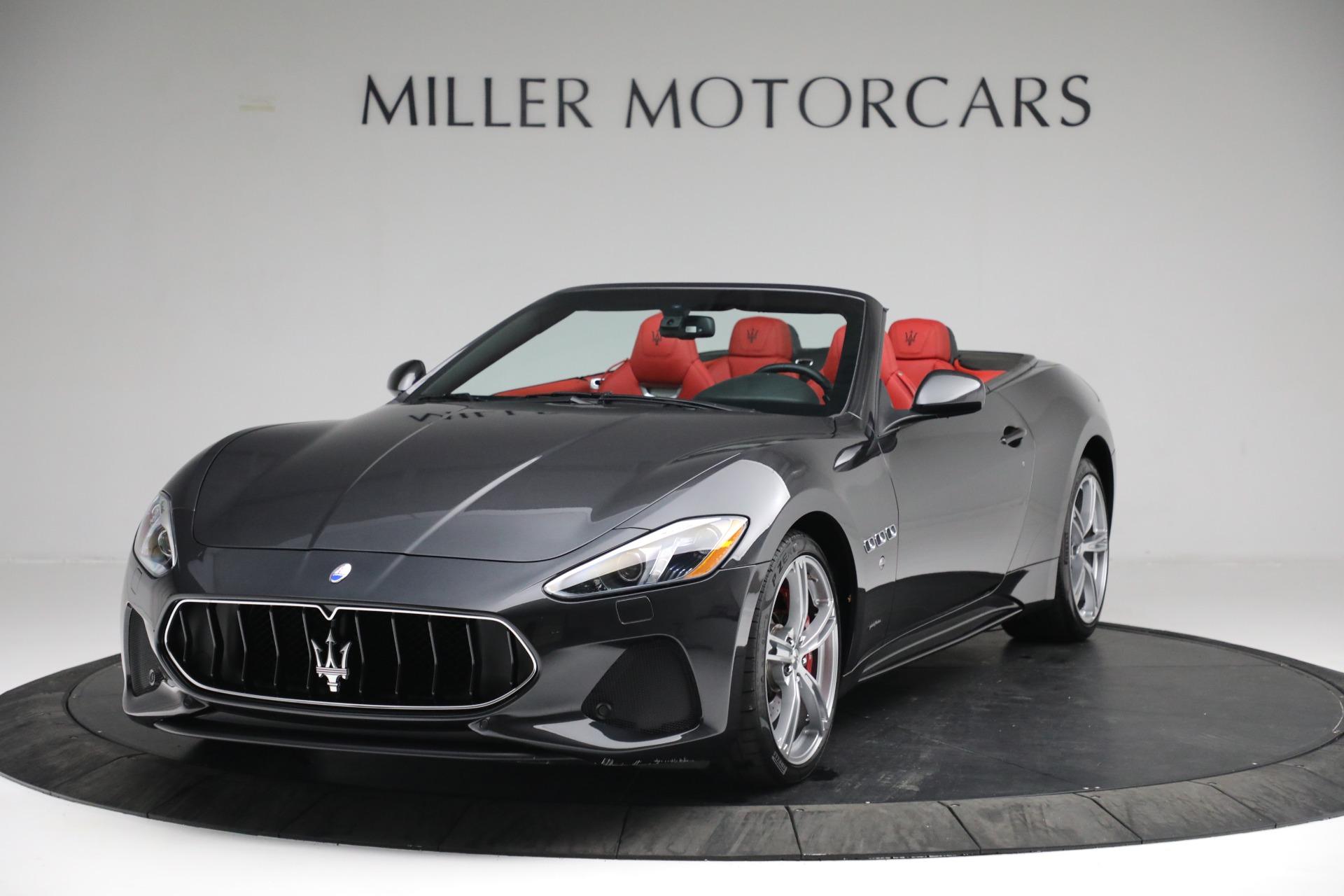 New 2019 Maserati GranTurismo Sport Convertible for sale $165,340 at Bugatti of Greenwich in Greenwich CT 06830 1