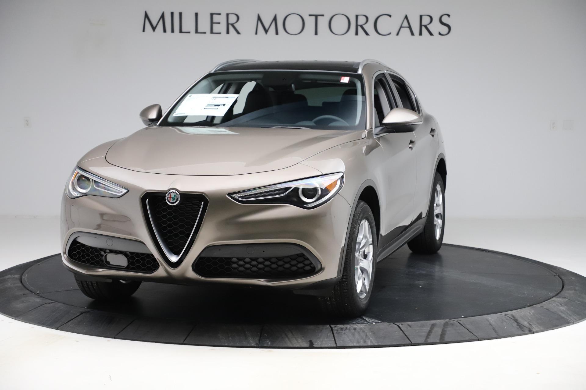 New 2019 Alfa Romeo Stelvio Q4 for sale $46,740 at Bugatti of Greenwich in Greenwich CT 06830 1